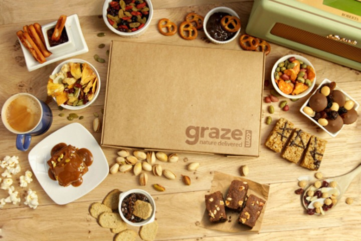 Graze – Get Your First and Fifth BoxesFREE